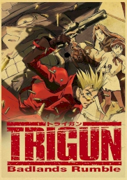 انیمیشن Trigun: Badlands Rumble